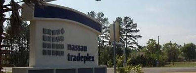 Photo of Nassau Tradeplex Road Sign