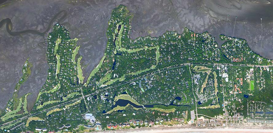 South Amelia Map