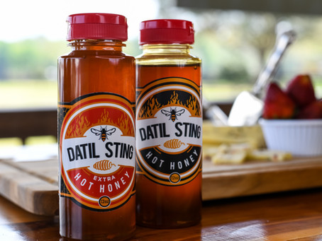 Hot, Sweet, and Unique, Datil Sting Hot Honey Now Available for Retail and Foodservice