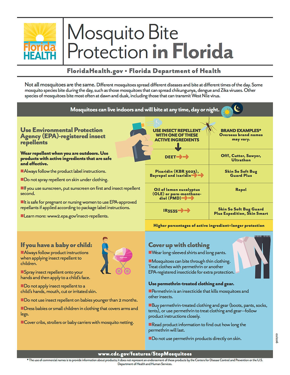 Mosquito Bite Protection in Florida