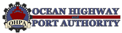 Ocean highway and port authority logo