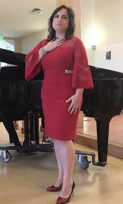 Michelle in Recital