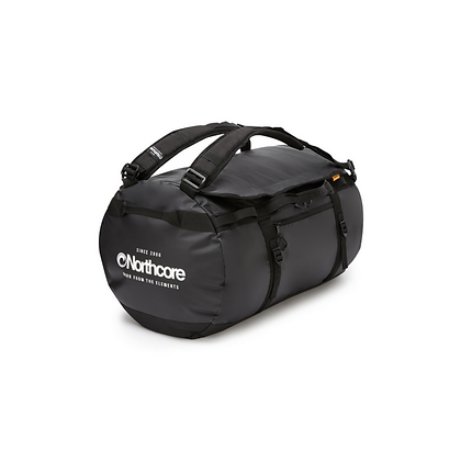 Northcore 40L Dry Duffle/ Backpack (Black)