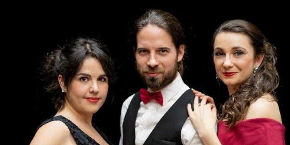 Un concert de Bel Canto, 3 artistes : Soprano, Mezzo-soprano, Piano