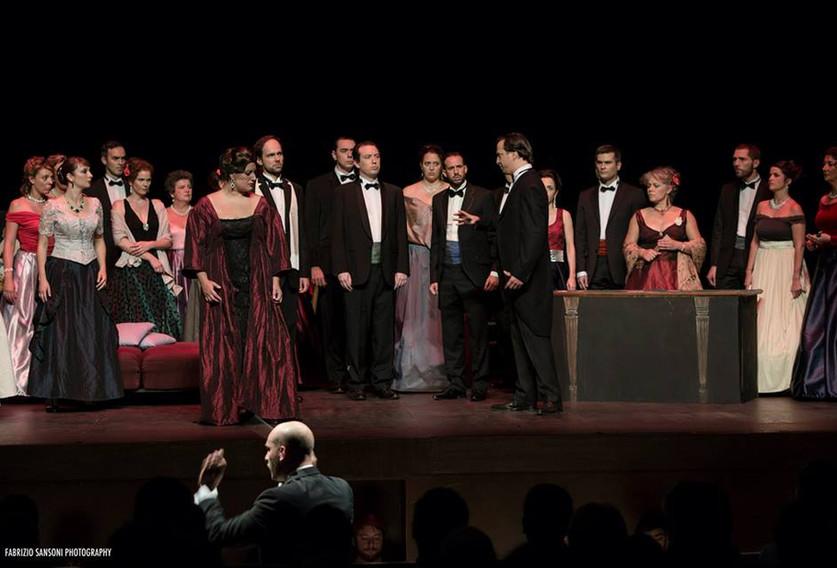 Flora. Traviata. G. Verdi