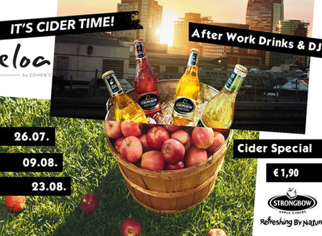 Cider-Special am Summer Sounds by Cohen's