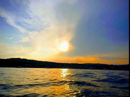 Golden Sunset St Jean Cap Ferrat