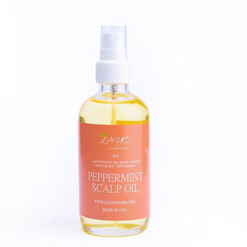 Peppermint Hair And Scalp Oil