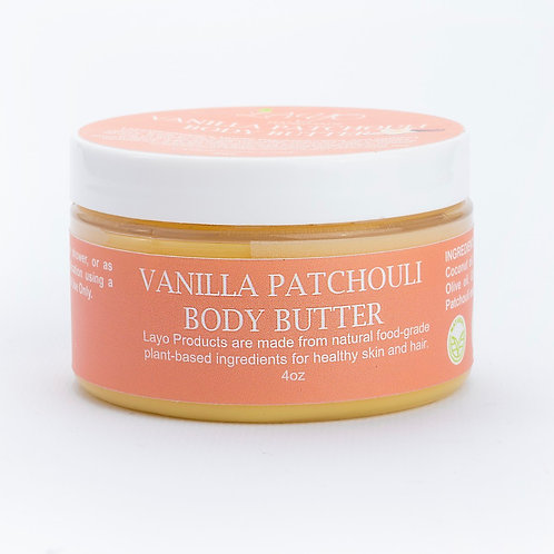 Vanilla Patchouli Body Butter