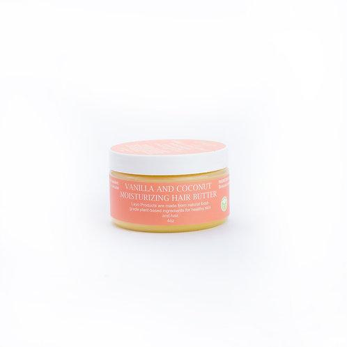 Vanilla and Coconut Hair Balm