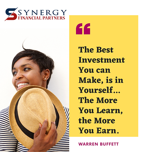 The Best Investment You can Make, is in