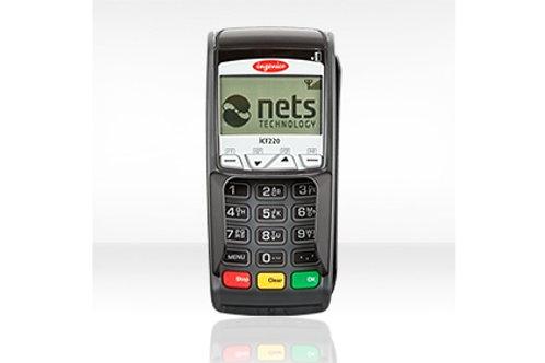 Nets ICT250E betalingsterminal, stasjonær