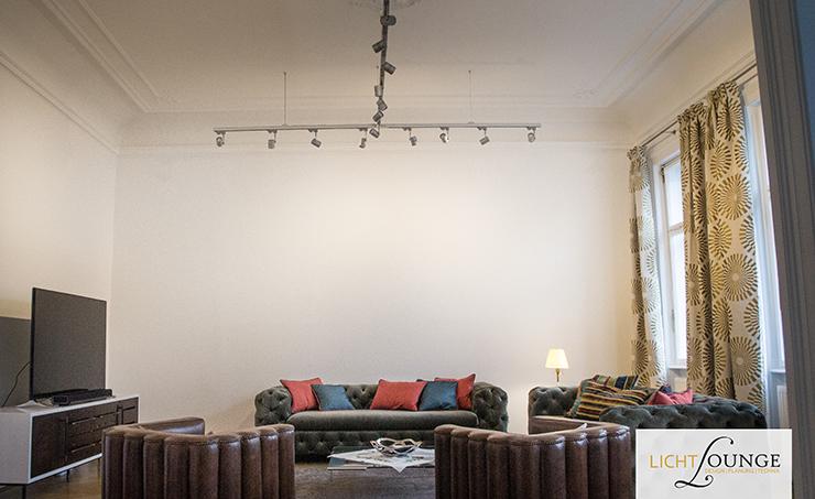 Lichtplanung Wohnzimmer Wand