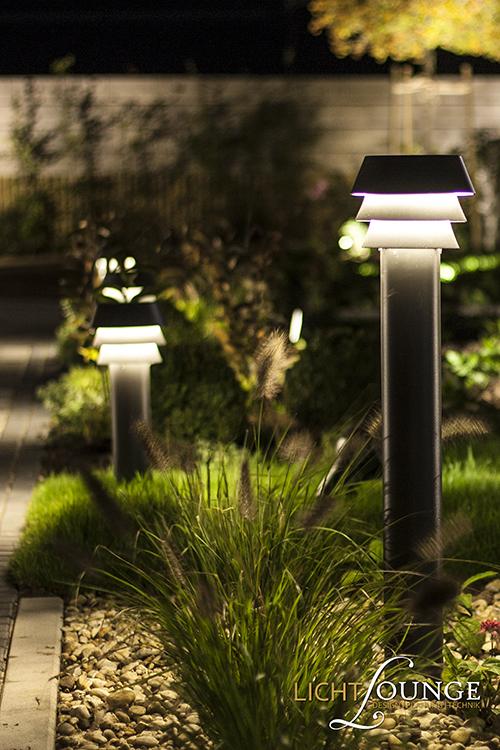 Lichtplanung Gartenweg
