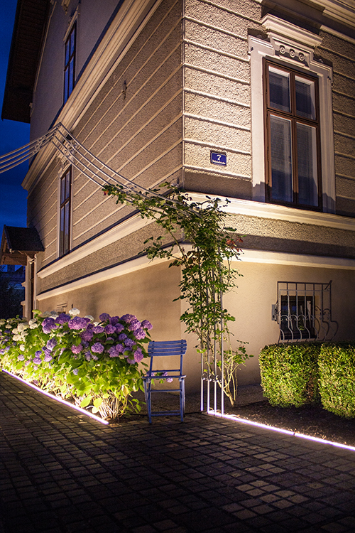 Lichtplanung Fassade LED