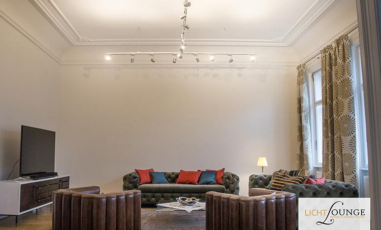 Lichtplanung Wohnzimmer Decke