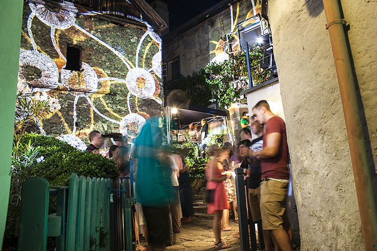 Beleuchtung Open Air-Veranstaltung