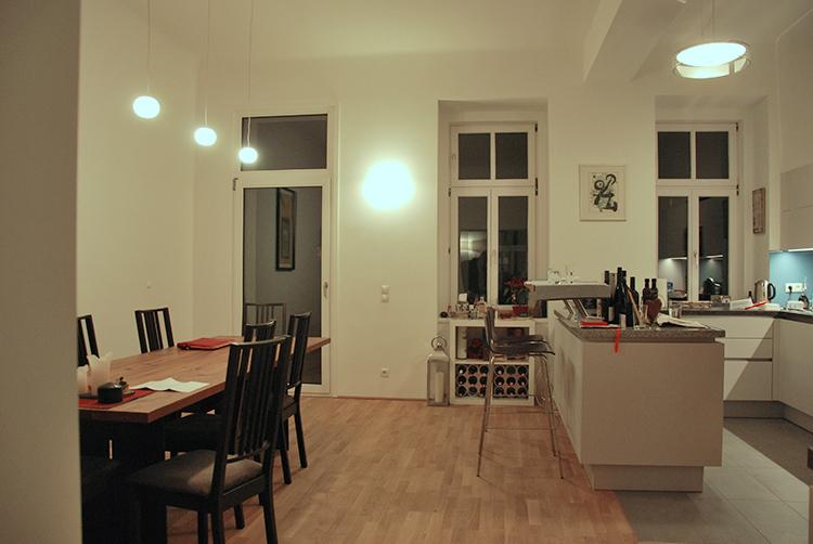Lichtplanung Wohnbereich