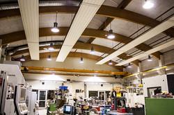 Lichtplanung LED Industriehalle