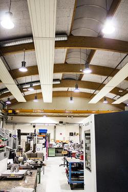 Lichtplanung Industriehalle