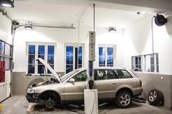 Lichtplanung KFZ-Werkstatt Auto