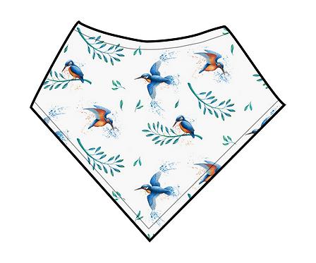 Dribble Bib - Kingfisher