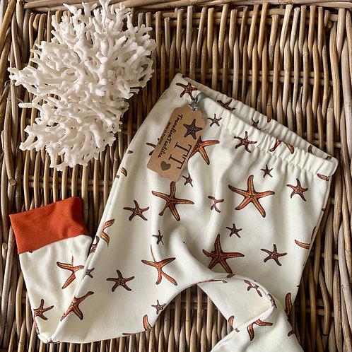 Cream Starfish Leggings