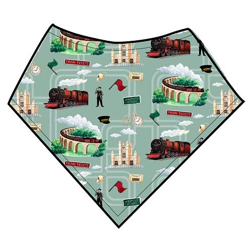 Dribble Bib - Green Train