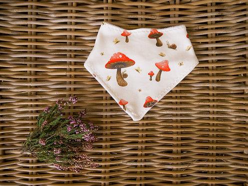 Dribble Bib - Fairy Mushroom