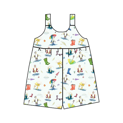 Duck & Wellies Overall (no autumn leaves)