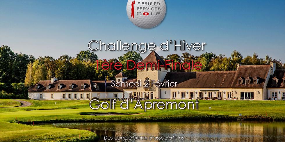 10ème tour du Challenge d'Hiver FBSG - 1ère Demi-Finale