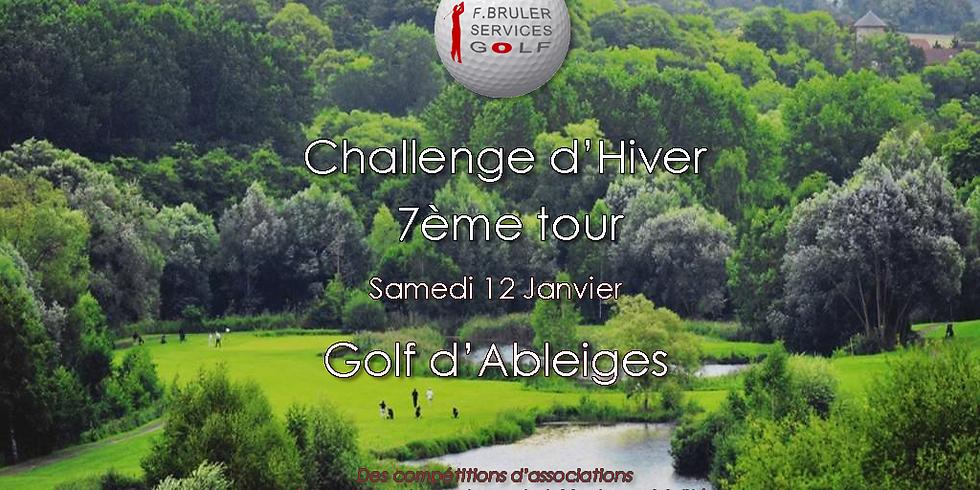 7ème tour du Challenge d'Hiver FBSG