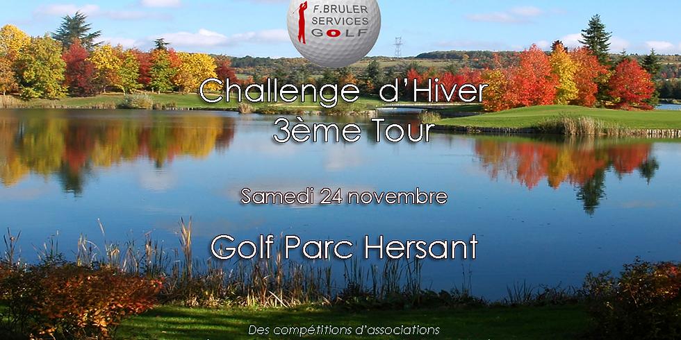 3ème tour du Challenge d'Hiver FBSG