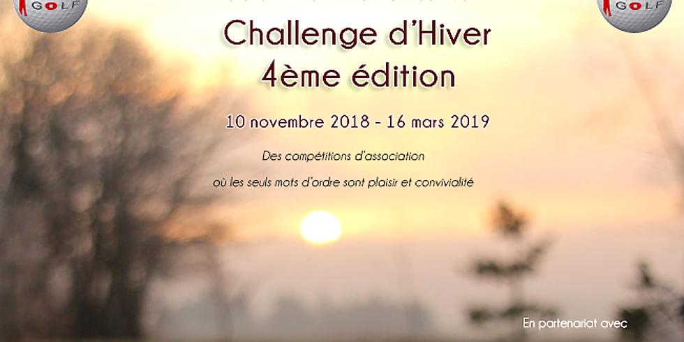 1er tour du Challenge d'Hiver FBSG