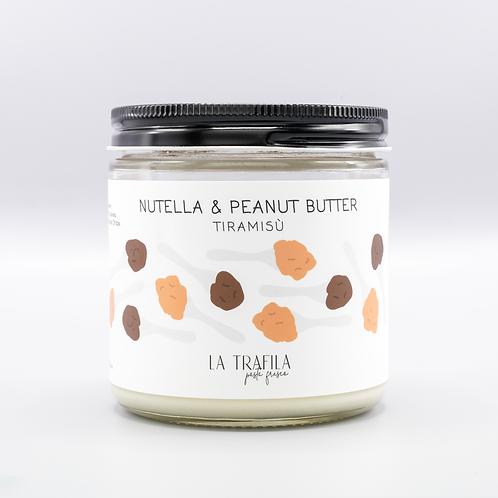Nutella & Peanut Butter Tiramisu