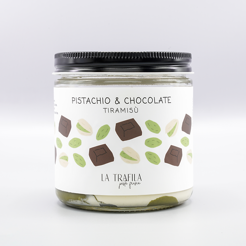 Pistachio & Chocolate Tiramisu