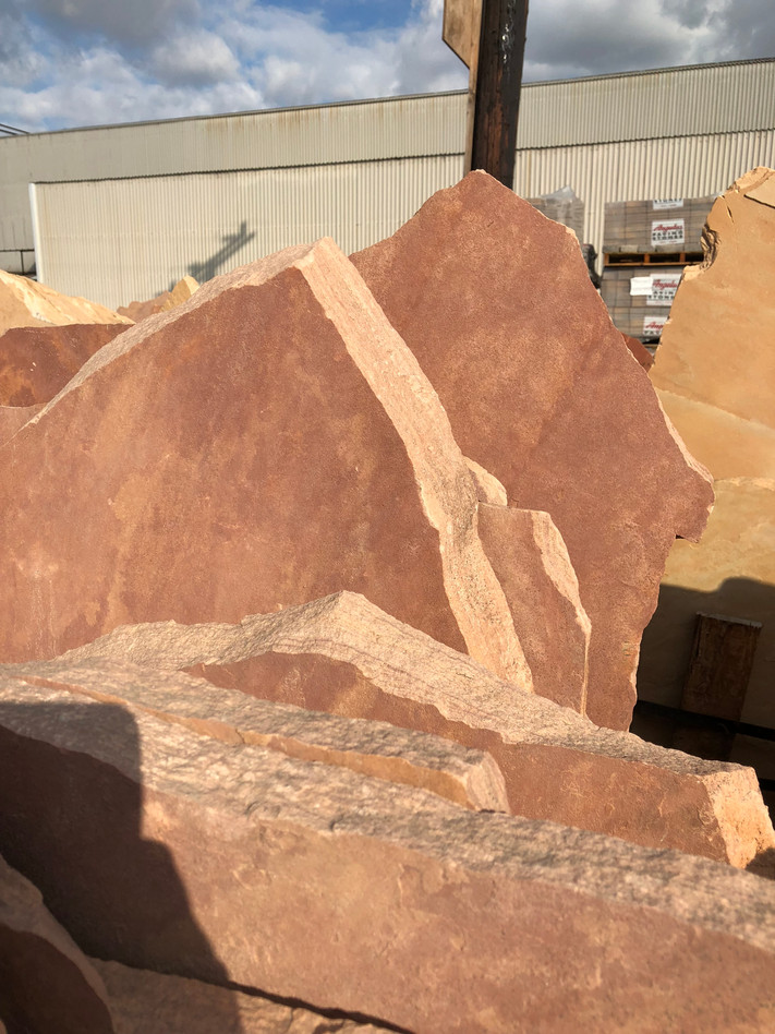 Dark Pink Arizona Flagstone