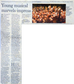 Young musical marvels impress