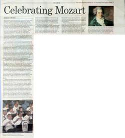 Celebrating Mozart