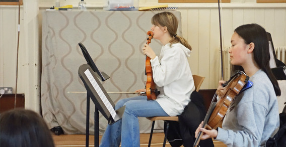 Senior Orchestra returns for rehearsals 22 May 2021