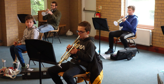 Intermediate Orchestra returns for rehearsals 15 May 2021