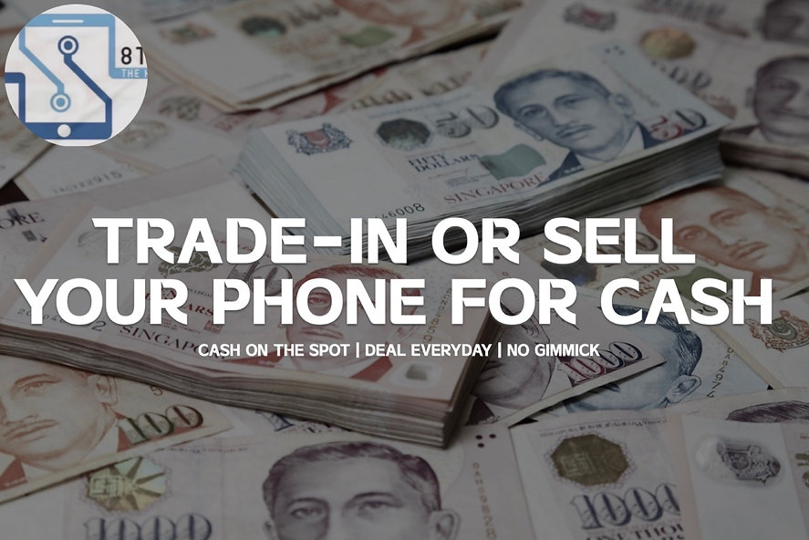 Trade-in or sell your phone for cash