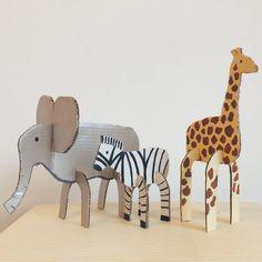 DIY bichos de papelão: divirta-se com as crianças!