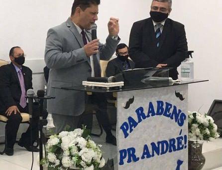 Aniversário do Evangelista André Luiz Souza