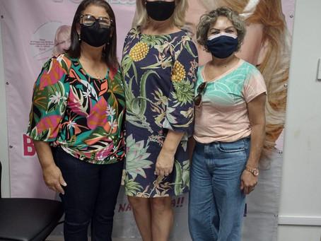 Visitas no gabinete - Pra. Marta e Pra. Gilda