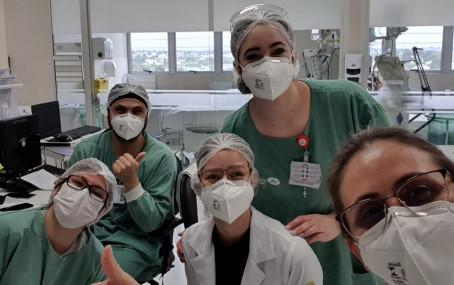 Hospital de Curitiba zera casos ativos de Covid-19 na UTI pela 1° vez desde o início da pandemia