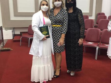 Culto de Ações de Graças a Deus na Ieadc das formandas do curso de Enfermagem
