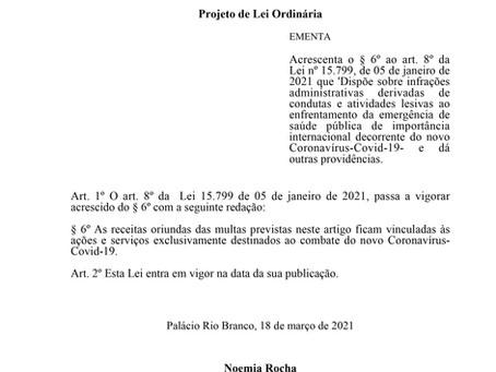 Acrescenta o § 6º ao art. 8º da Lei nº 15.799