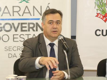 'Os hospitais estão sem leitos', alerta secretário da Saúde do Paraná'1