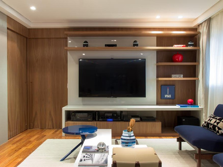 Com a diminuição dos espaços, a importância da decoração está em evidência